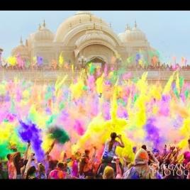 GoPro: Crazy HOLI Colour Festival India! Amazing!
