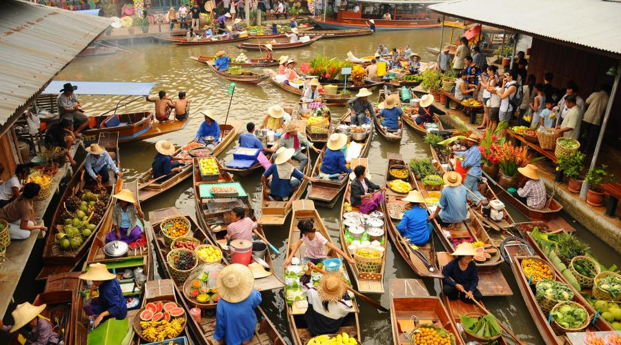 Bangkok-Floating Market